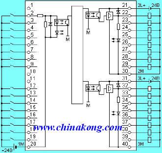 plc控制水泵电路图