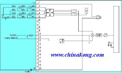 s7-300 通用型模拟量输入扩展模块(sm331)技术规范及接线图