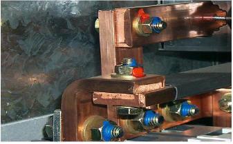 配电柜螺栓紧固标识