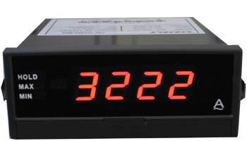 带峰谷值锁定电流电压表