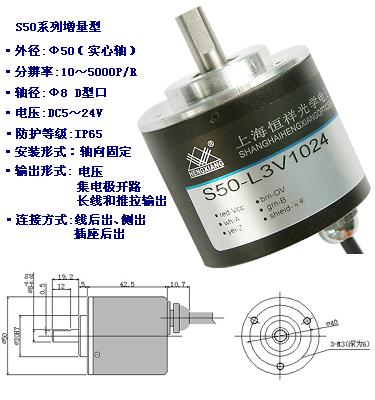 S50系列增量型旋转编码器