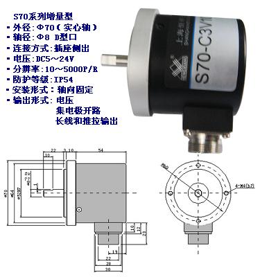 S70系列增量型旋转编码器