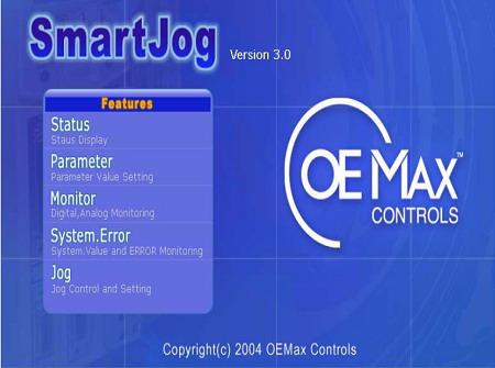 OEMAX伺服监视设置软件