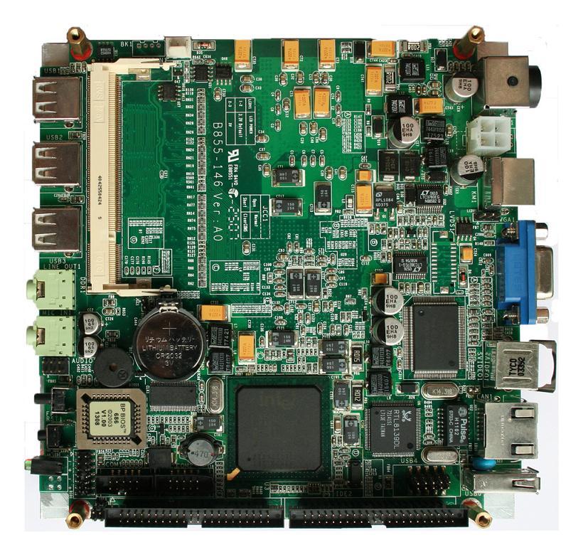 嵌入式◆主板GH855-146