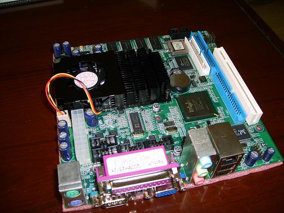 视频监控用MINI-ITX主板
