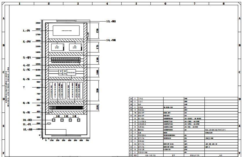 控制柜柜内安装布置图-工控博客