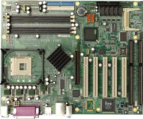 IMBA-8650 P4工业大母板