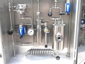 MTBE装置醇/烯比液体分析用样品预处理