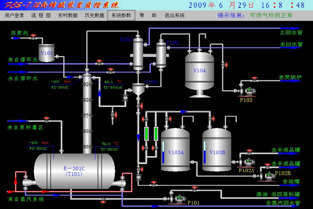 南京丙烯酸回收系统-工控博客