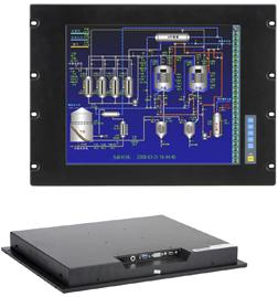 诺达佳工业触摸平板显示器-17寸(机架式)