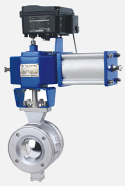 ZSS/HV系列气动V型调节球阀