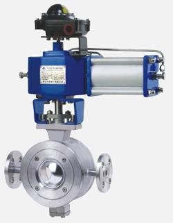 ZSS/HVT系列气动V型夹套保温球阀