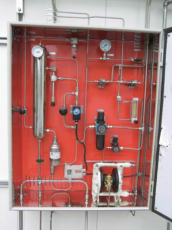煤气化装置在线分析样品预处理系统