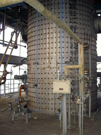 气化炉表面测温系统