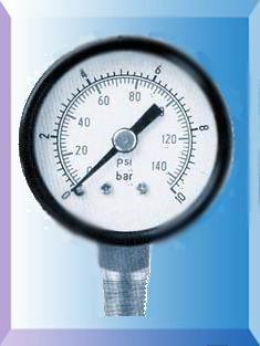 普通压力表Y-50/Y60/Y100/Y150