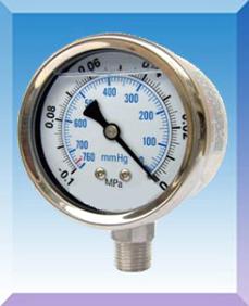 耐震真空压力表型号,规格,量程,精度,安装螺纹