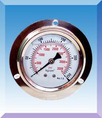 轴向带边压力表型号,规格,量程,精度,安装螺纹