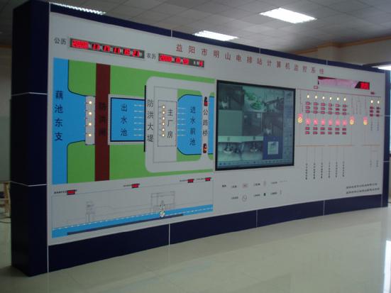 电站模拟屏