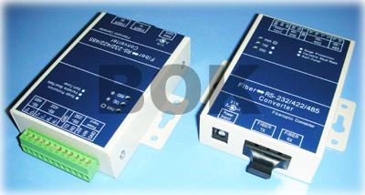 博科未来RS-232/422/485转单模光纤转换器