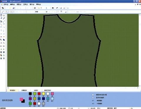 电脑无缝内衣机电控系统、打版软件