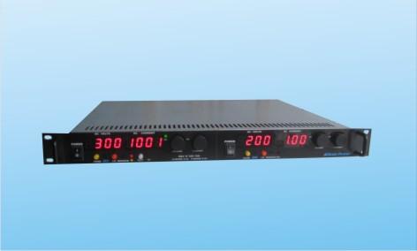 19英寸机架式交直流可调电源 双路0~300VDC