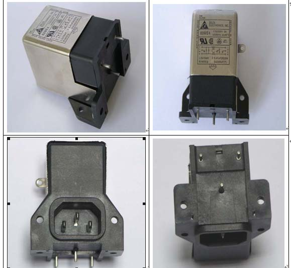 泰国产DELTA电源滤波器03ME4