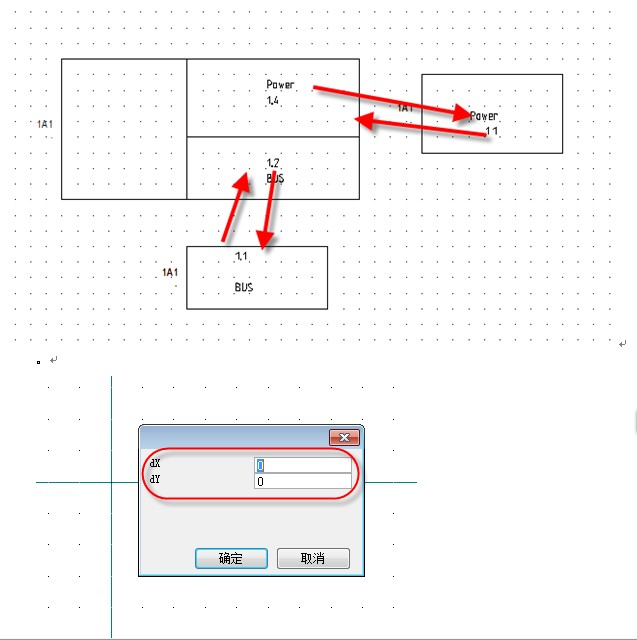 see electrical-如何创建具有多个交叉索引的符号?