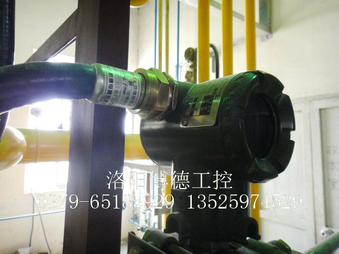 玻璃窑炉天燃气燃烧系统现场压力变送器
