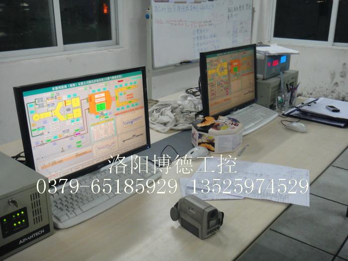 天燃气玻璃窑炉监控组态系统
