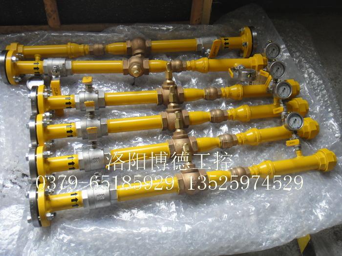 玻璃窑炉天燃气燃烧系统燃烧器配套管件