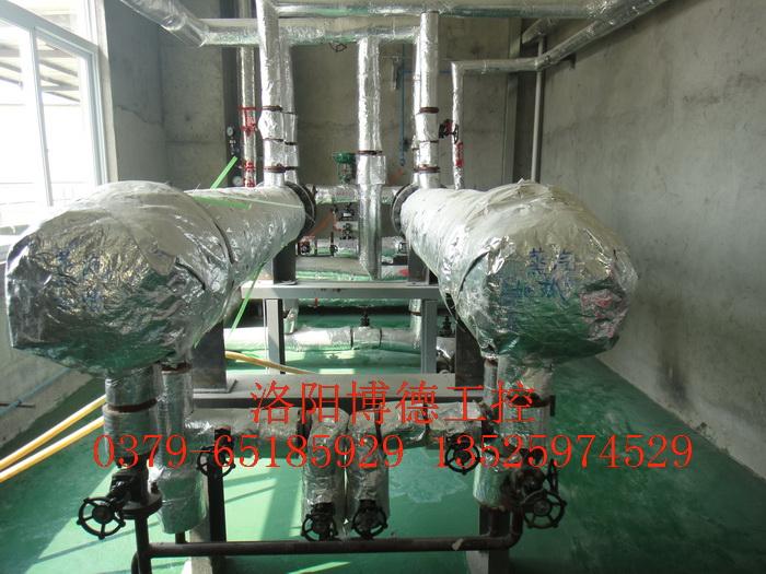 玻璃窑炉重油燃烧系统油温蒸汽加热器图