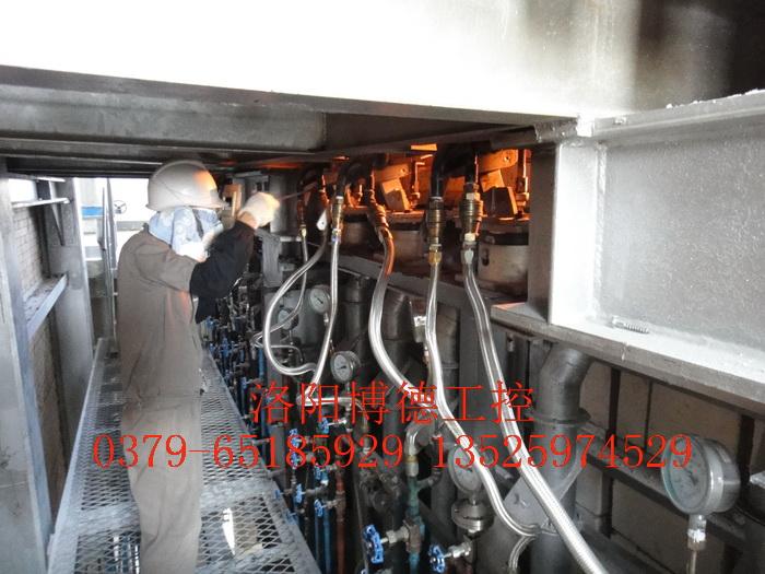 玻璃窑炉重油燃烧系统燃烧器(枪)配置图