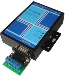 RS485/422串口服务器(串口转TCP/IP)