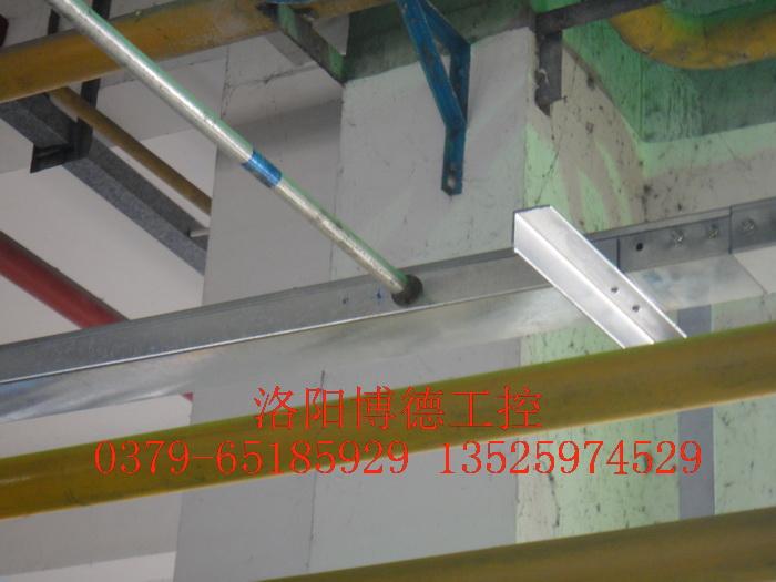 玻璃窑炉天燃气燃烧电缆桥架安装图