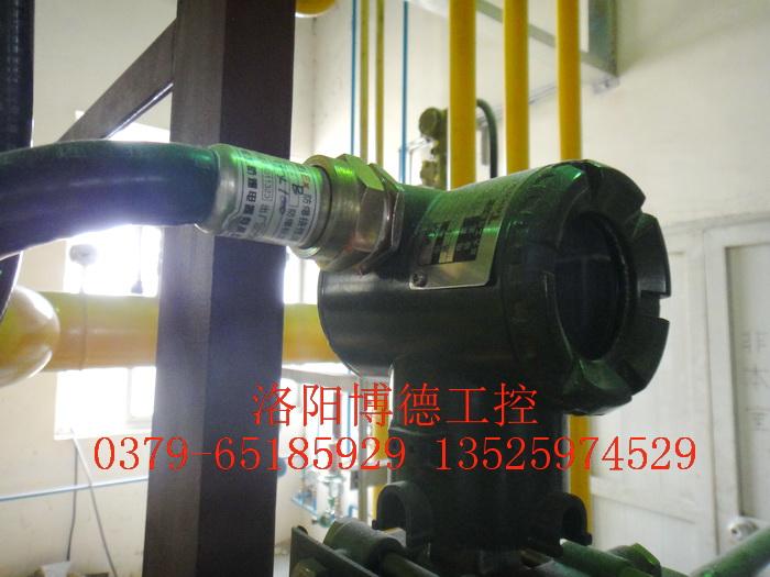玻璃窑炉天燃气系统电缆防爆管安装图