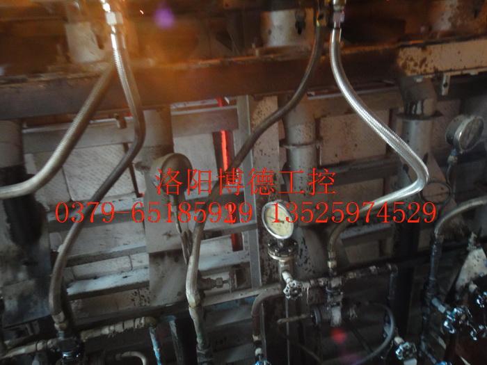 玻璃窑炉枪前阀安装配置图