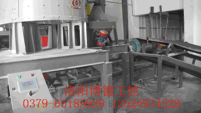 玻璃原料配料现场控制台安装图