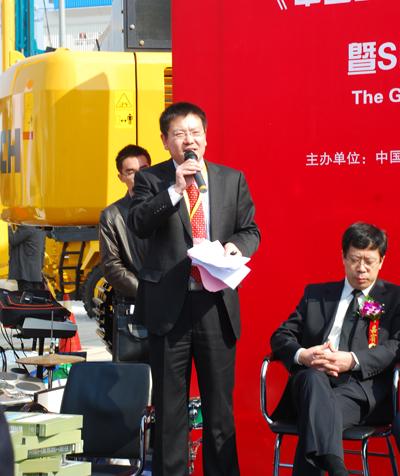 《中国工程机械工业年鉴》2012年刊新书发布仪式暨SINOMACH矿用卡车全球首发式隆重举行