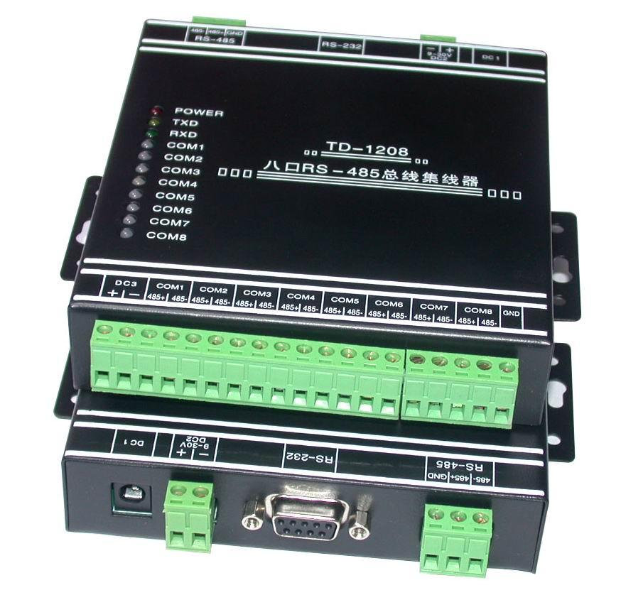 八口RS485集线器/485HUB/共享器/分配器