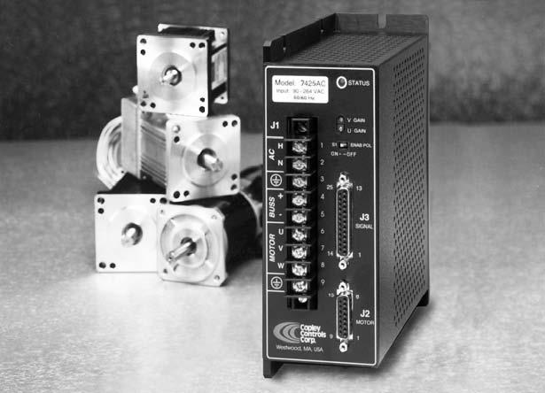 美国Copley驱动器7225AC交流伺服驱动器交流驱动器
