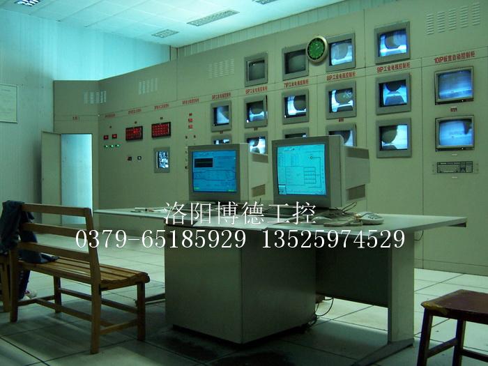 浮法玻璃生产线中央控制室效果图1