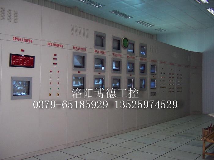 浮法玻璃生产线中央控制室效果图2