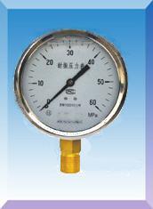 充油压力表型号,规格,量程,精度,安装螺纹