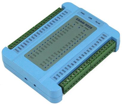 开关量采集/继电器输出模块fedam5028