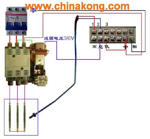 热电偶电气控制接线图