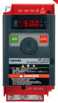 东芝变频器VF-NC3系列-简单的小型变频器