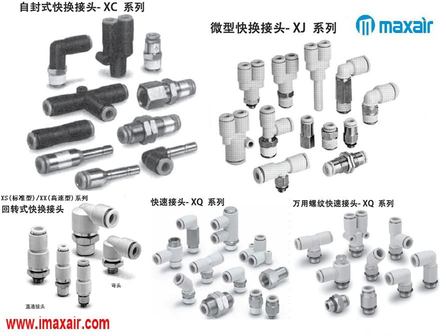 气动元件,快换接头,经济型产品,德国品牌Maxair