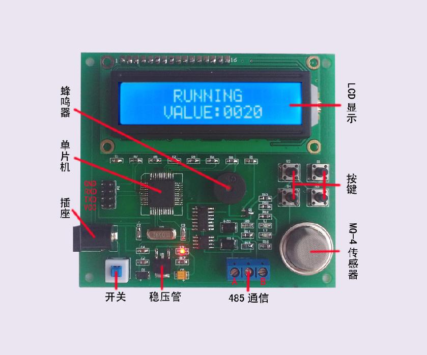 ATT7022CU交流测量开发板使用说明书
