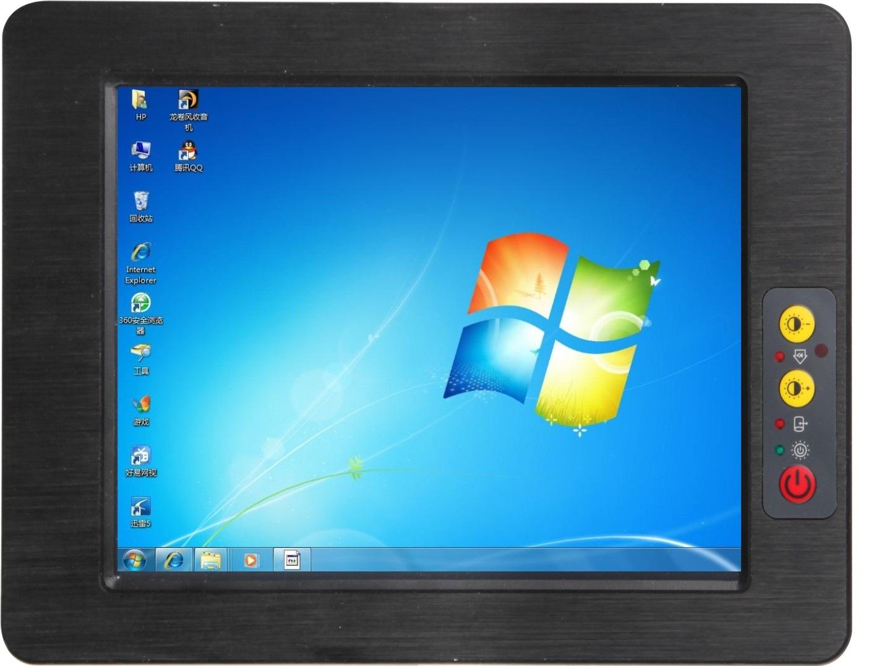 嵌入式工业平板电脑,双网口多串口触摸平板电脑