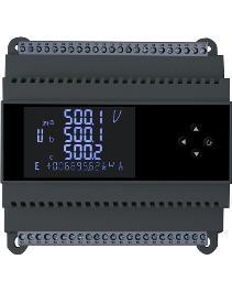 虹润推出三相液晶智能电量变送器